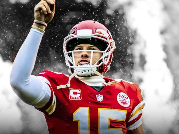 Patrick Mahomes (Kansas City Chiefs, quarterback)