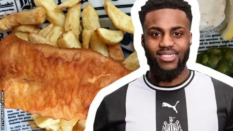 Danny Rose, fish and chips