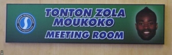 The Tonton Zola Moukoko Meeting Room at Sports Interactive's offices