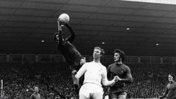 Jack Charlton remains Leeds' record appearance-maker with 773