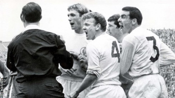 Chelsea had beaten Leeds in controversial circumstances in a 1967 FA Cup semi-final