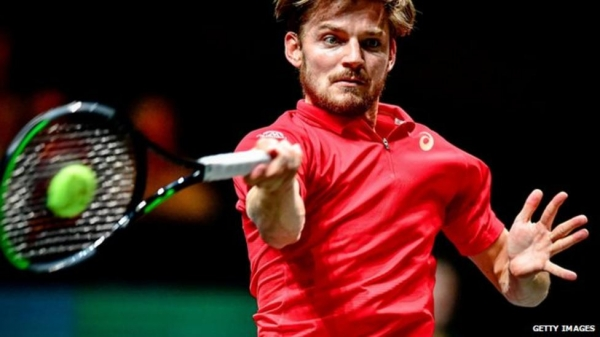 Belgium's David Goffin is currently ranked 10th in the world