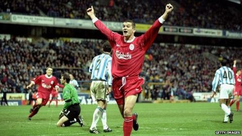 Dominic Matteo spent seven years at Liverpool before signing for Leeds United in 2000
