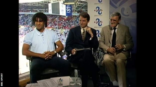 The BBC pundits for the England Scotland game