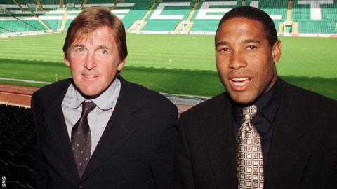 Kenny Dalglish and John Barnes